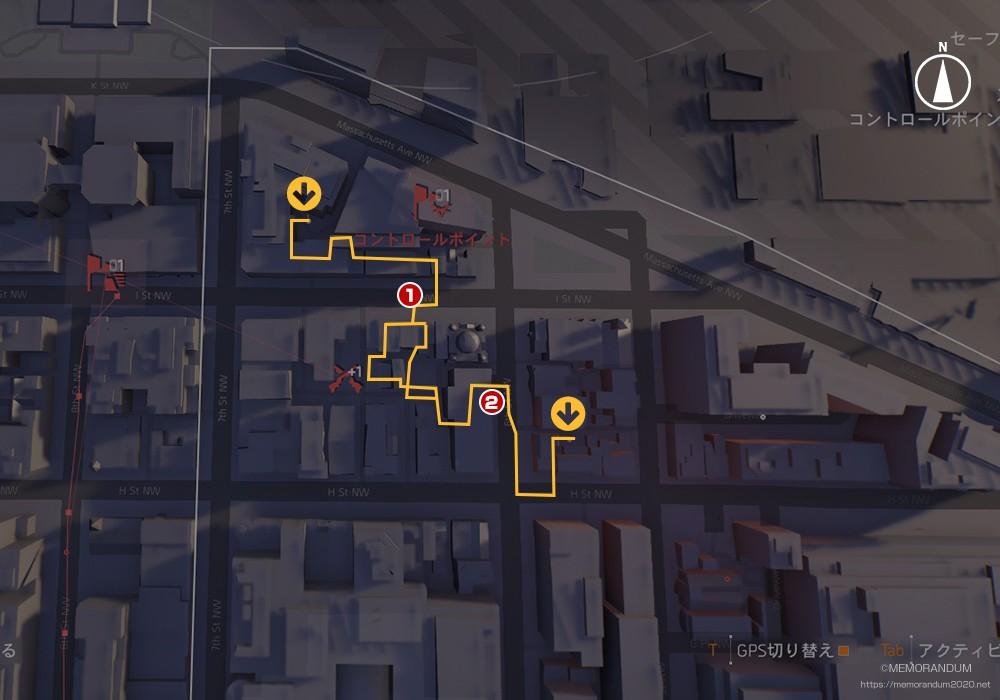 鍵MAP-ジュディシャリスクェア1