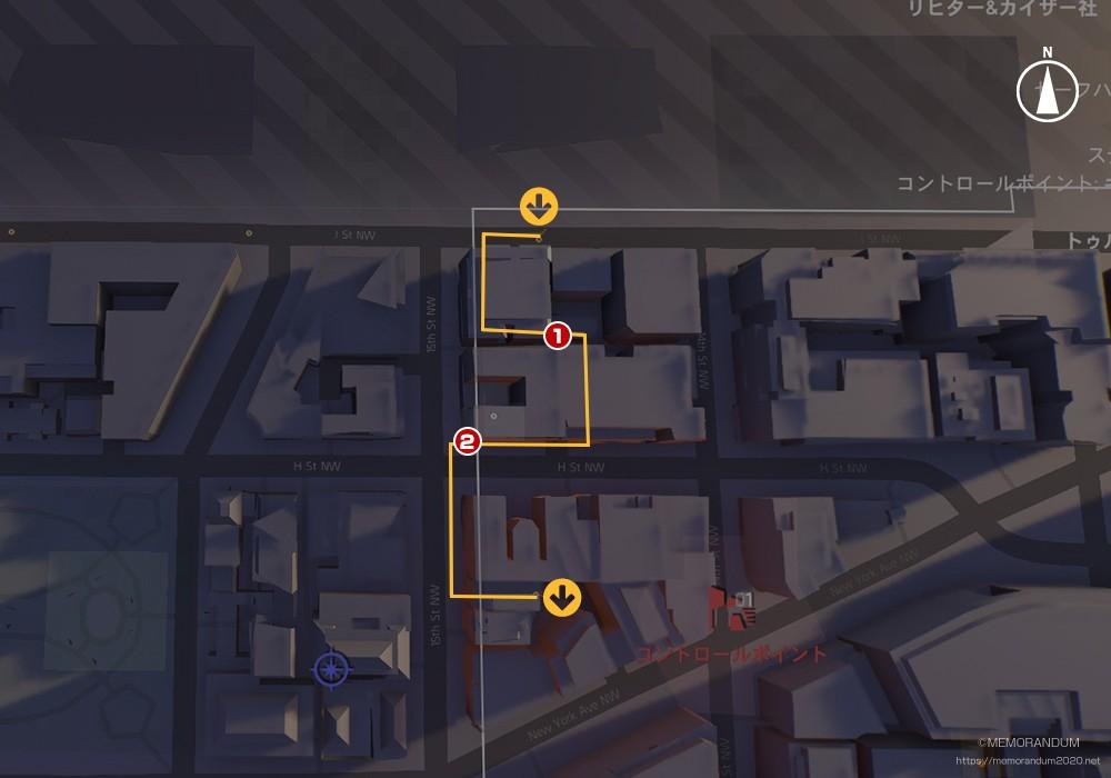 鍵MAP-ダウンタウンイースト1