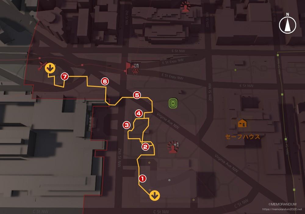 鍵MAP-コンスティテューションホール1