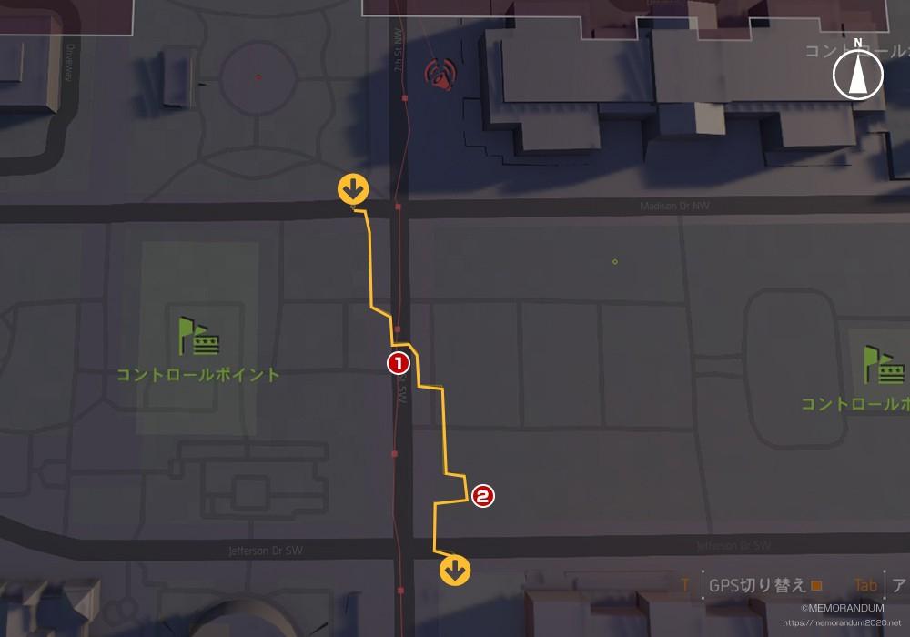 鍵MAP-イーストモール2